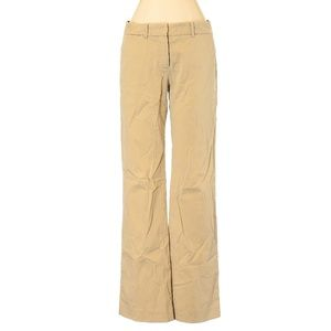 Theory Tan Straight Leg Khakis
